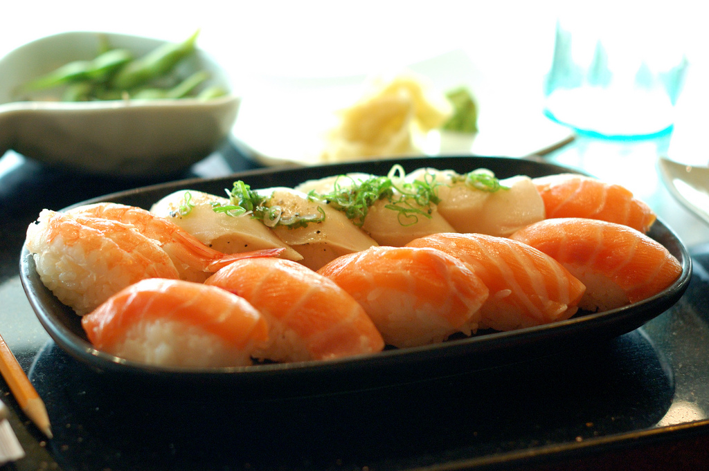 6 Best Sushi Restaurants In Dubai