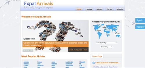 Expat Arrivals