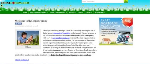 Expat Forum