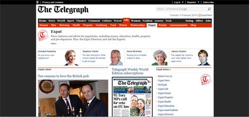 Telegraph Expat