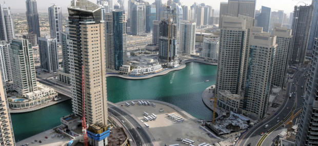 Dubai Marina during the day