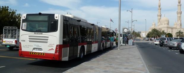 Bus in Dubai
